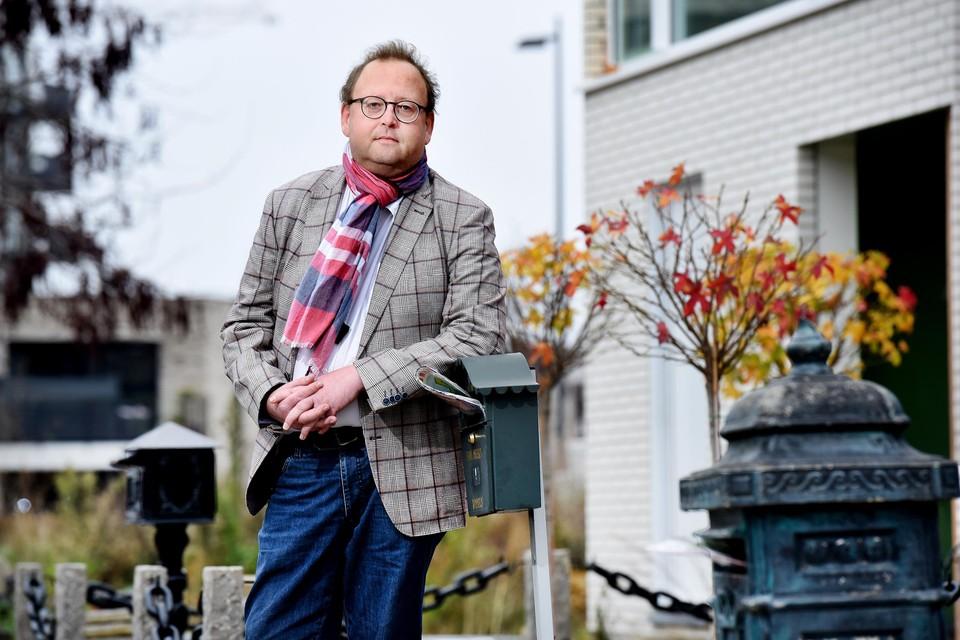 De Hasseltse postbode Steve Meert is de kritiek en de bagger beu.