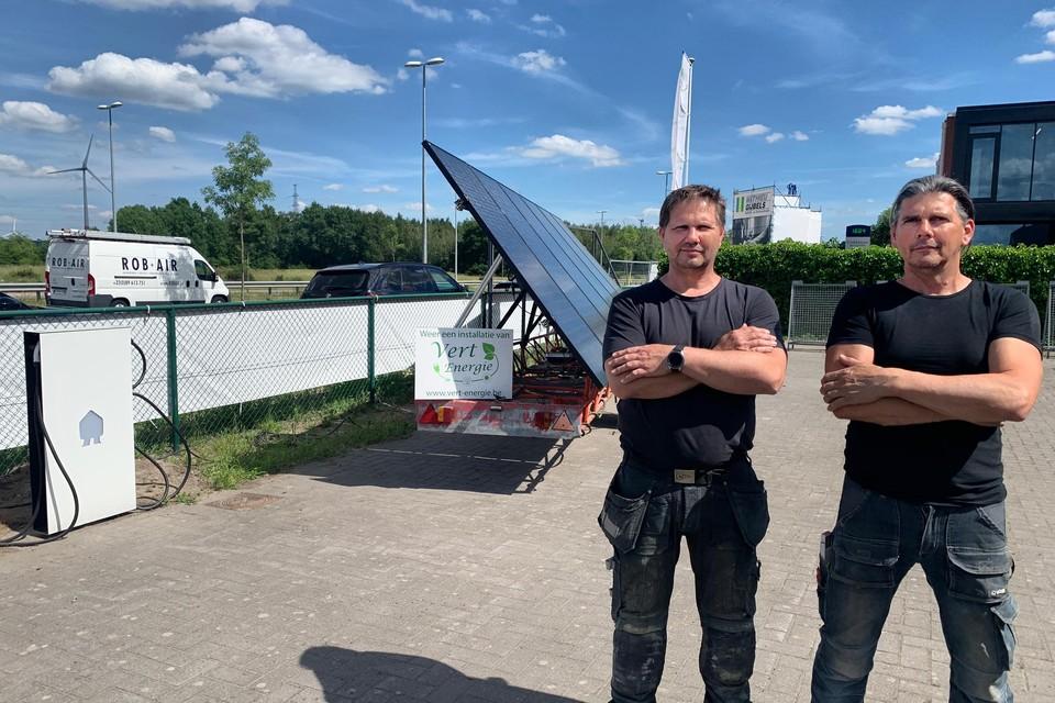"""De broers Szewczykowski: """"De gestolen zonnepanelen stonden als een testmodule opgesteld."""""""