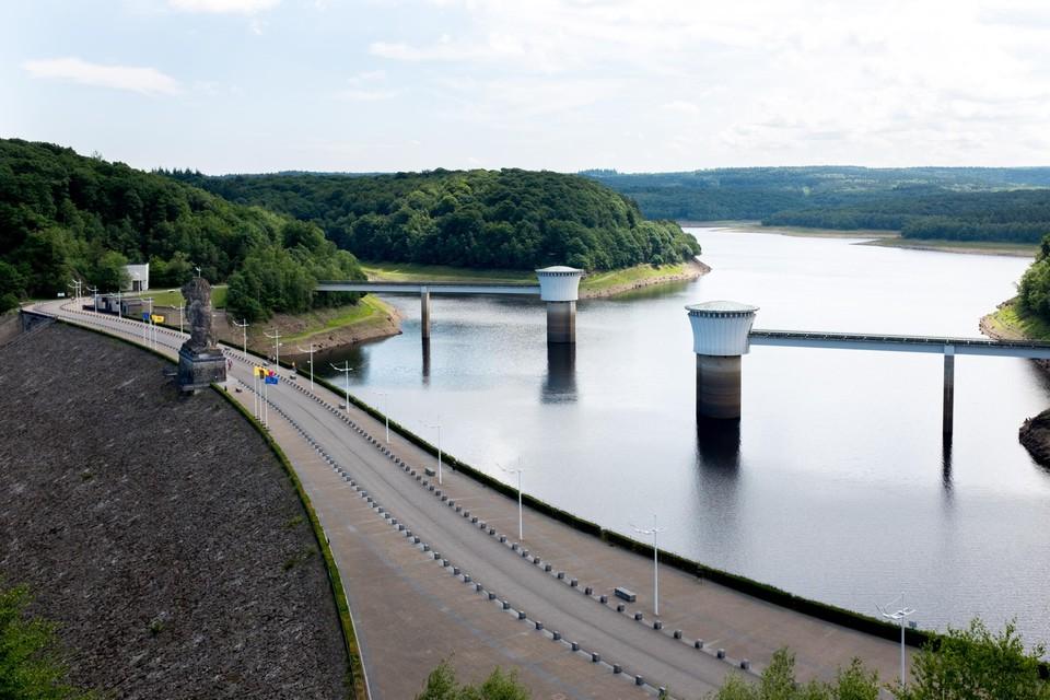 De Gileppe is één van de oudste stuwdammen van Europa.