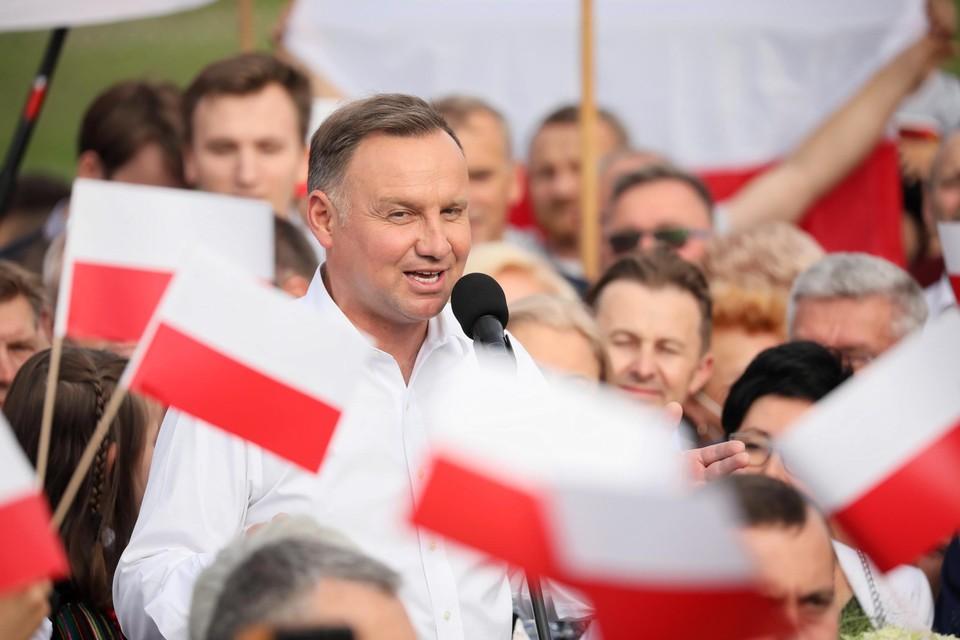 Pools president Duda