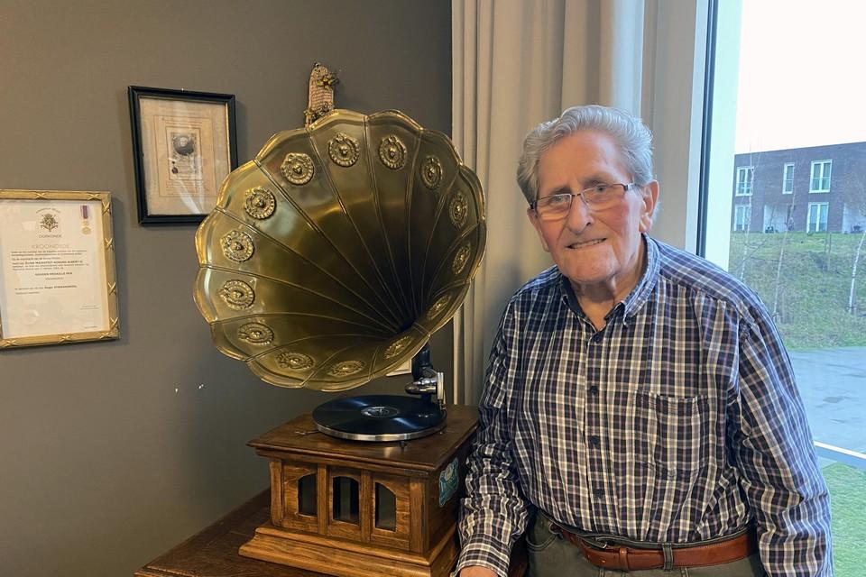 Roger Sterckendries (83) krijgt op 7 januari als eerste Limburger het coronavaccin.
