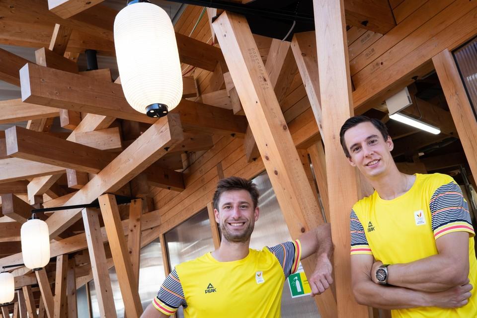 Sander Gillé en Joran Vliegen.