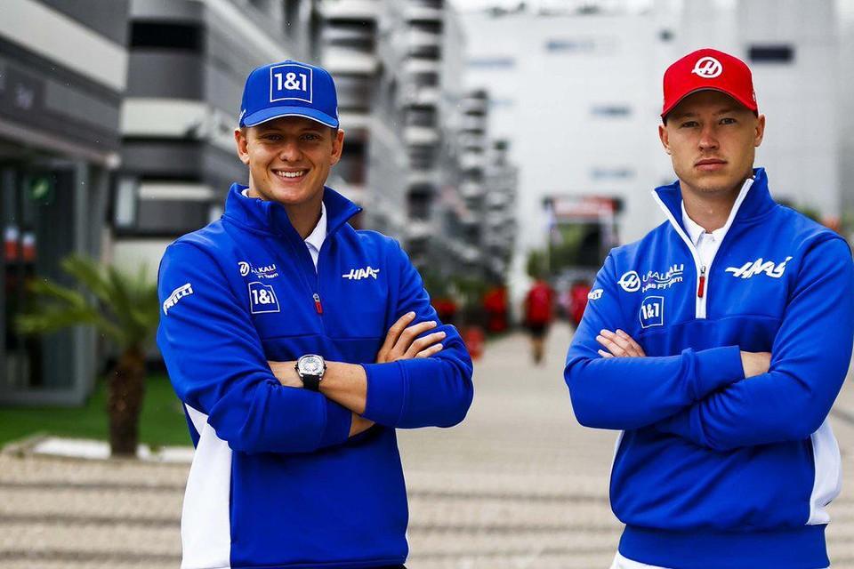 Mick Schumacher en Nikita Mazepin