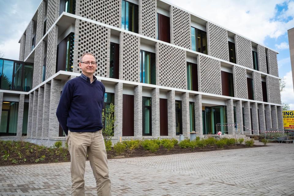 """Freddy Biets van het Bisdom Hasselt: """"Dit gebouw is veel duurzamer dan het vorige."""""""