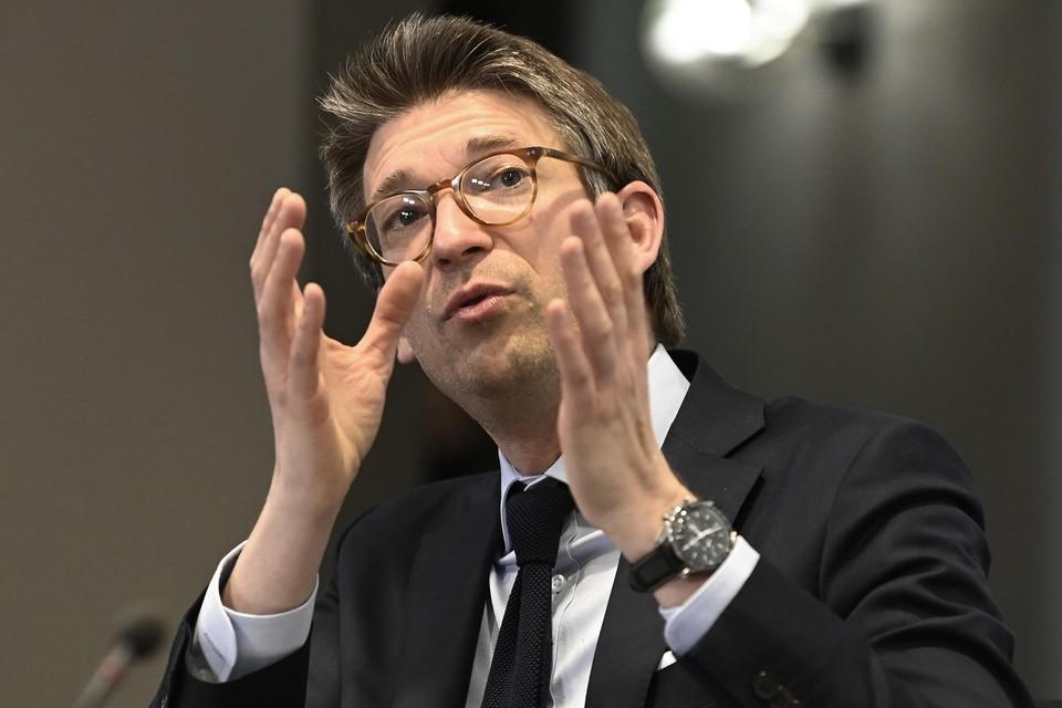 Federaal minister van Werk Pierre-Yves Dermagne (PS).