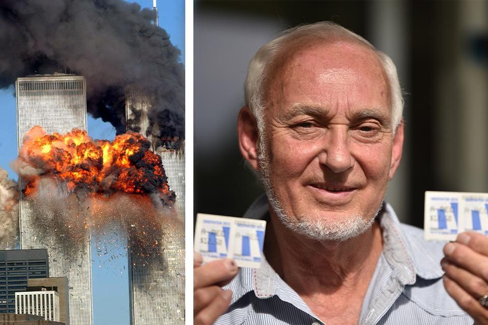 Guido heeft de kaartjes voor zijn geplande bezoek aan de Twin Towers in 2001 al die tijd bijgehouden.