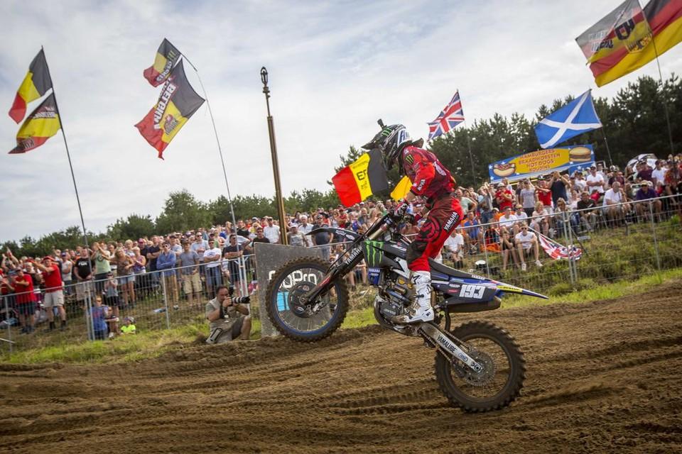Jago Geerts tijdens een eerdere editie van de GP in Lommel.