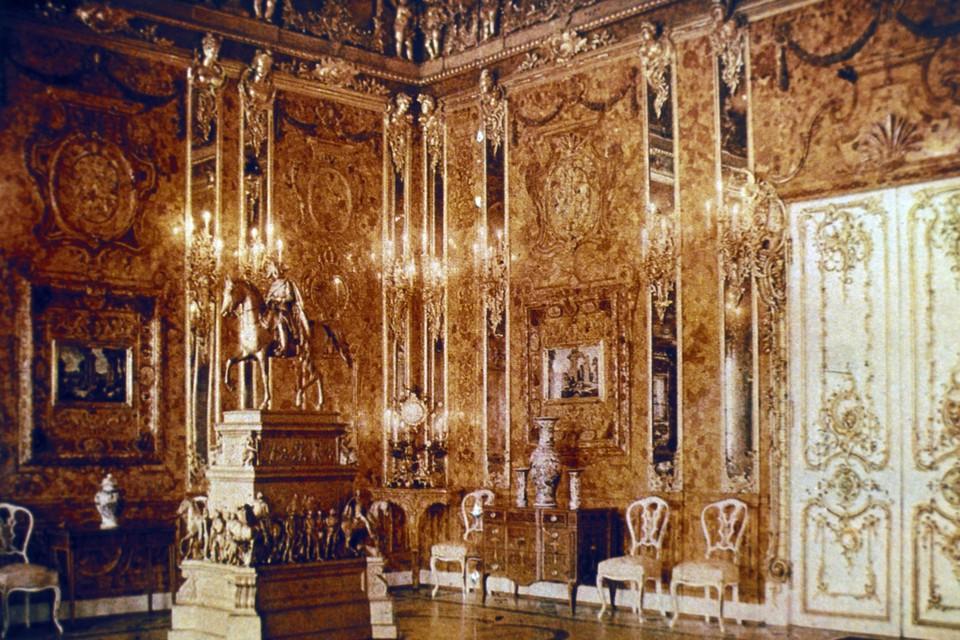 De barnsteenkamer in 1917.