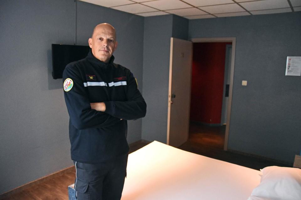 Zaakvoerder Franky Kox die ook brandweerman is, wil zo op zijn manier hulp bieden.