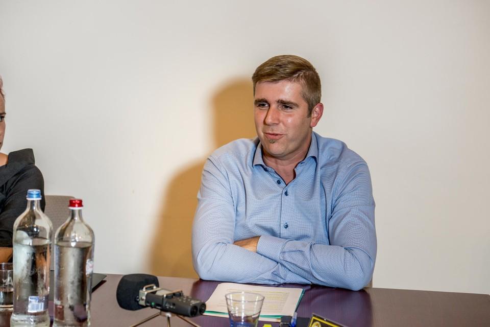 Burgemeester Bart Moyaers