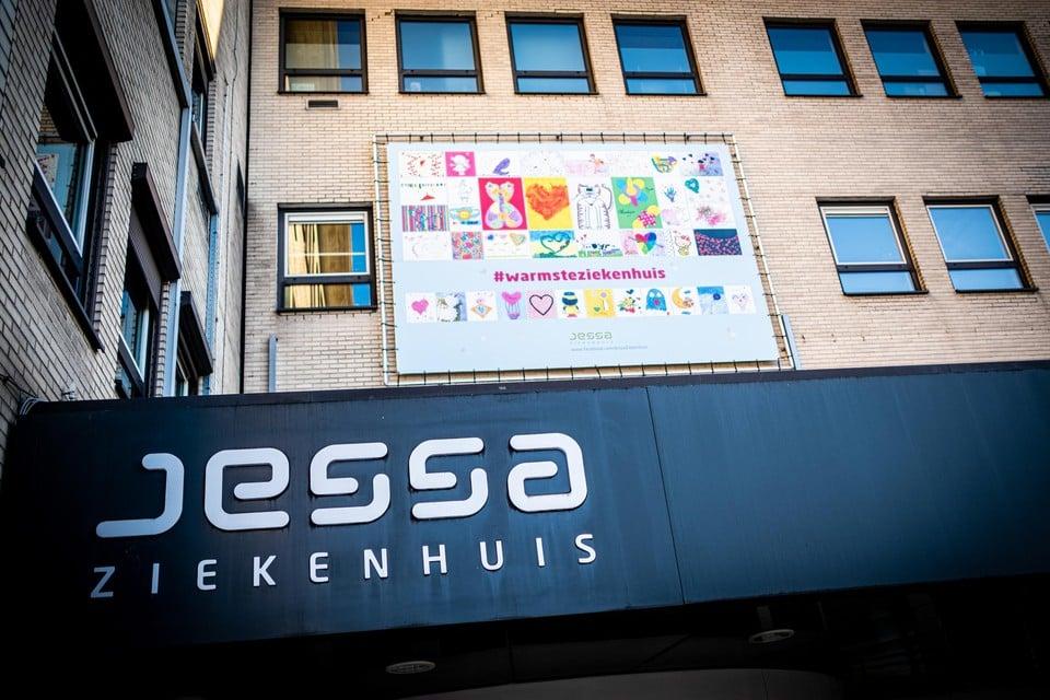 Jessa in Hasselt was donderdag voor het eerst sinds september vorig jaar coronavrij.