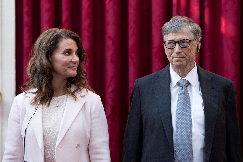 Melinda en Bill Gates