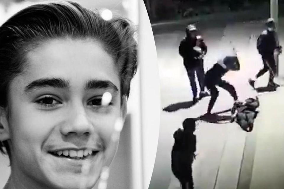 Op camerabeelden is te zien hoe driest en gewelddadig de aanvallers te werk gingen.